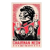 Follow Chairman Meow! Postcards (Package of 8)
