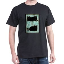 Black Cats Black T-Shirt