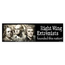 RWExtremists founded nation Bumper Sticker (10 pk)