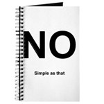 NO! Simple as that. Journal