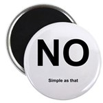 NO! Simple as that. Magnet
