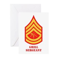 Grill Sgt. Greeting Cards (Pk of 20)