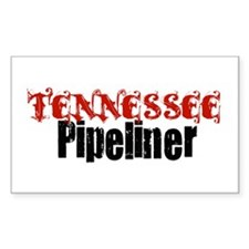 Tennessee Pipeliner 3 Rectangle Decal