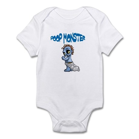 Poop Monster Infant Bodysuit