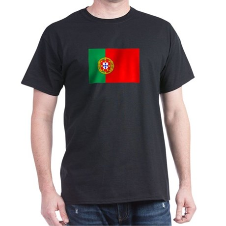 Portuguese Flag of Portugal Dark T-Shirt