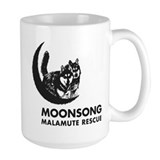 Moonsong Malamute Rescue Ceramic Mugs