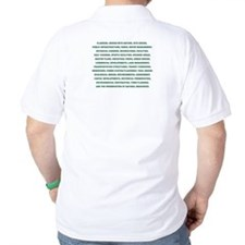 List of what Landscape Architects do - T-Shirt