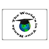 Graduation World Banner