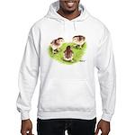 Silver Grey Dorking Chicks Hooded Sweatshirt