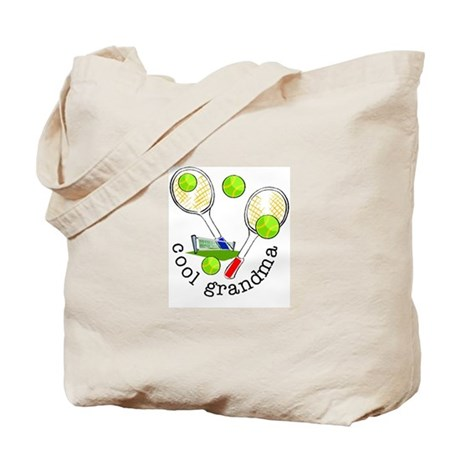 TENNIS GRANDMA Tote Bag