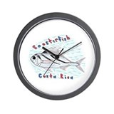 Roosterfish Wall Clock