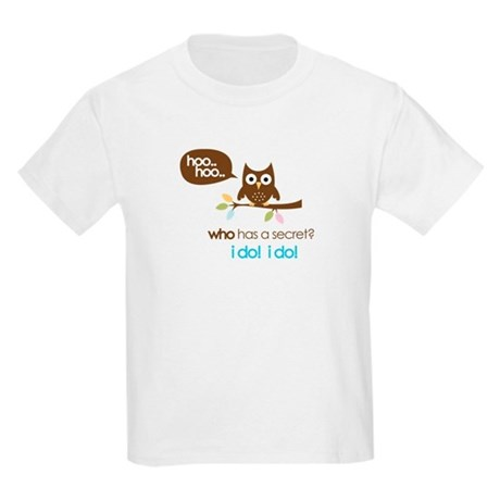 big sister to be shirts owl Kids Light T-Shirt