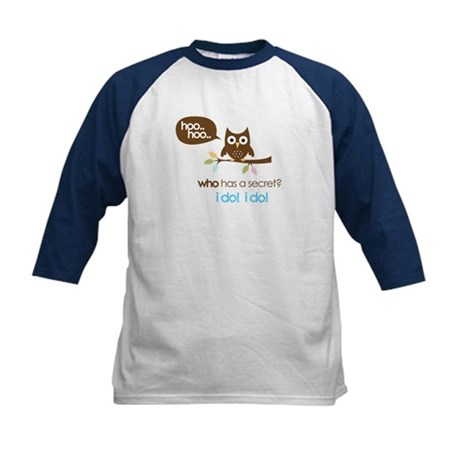 big sister to be shirts owl Kids Baseball Jersey