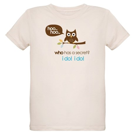 big sister to be shirts owl Organic Kids T-Shirt