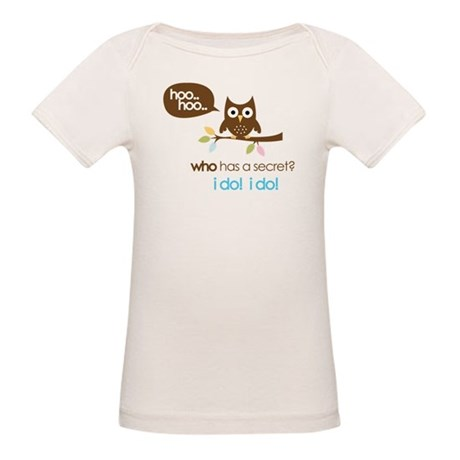 big sister to be shirts owl Organic Baby T-Shirt
