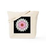 Pink and White Dahlia I Tote Bag
