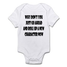 Just go ahead and make a new Infant Bodysuit