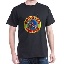 2-Charging Reb with circle format T-Shirt