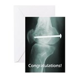 Rugby Injury Greeting Cards (Pk of 10)
