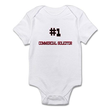 Number 1 COMMERCIAL SOLICITOR Infant Bodysuit