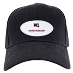 Number 1 CLOTHING TECHNOLOGIST Black Cap