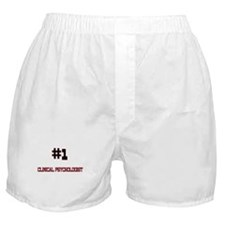 Number 1 CLINICAL PSYCHOLOGIST Boxer Shorts