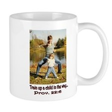 """Train up a child"" Mug"