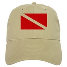 Diver Down Flag Baseball Cap