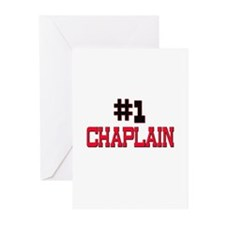 Number 1 CHAPLAIN Greeting Cards (Pk of 10)