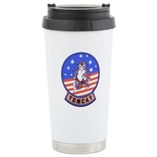 Tomcats Ceramic Travel Mug