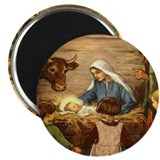 "Nativity Scene 2.25"" Magnet (100 pack)"