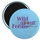 Wild about Feral Cats Magnet