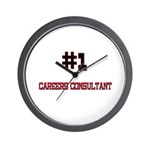 Number 1 CAREERS CONSULTANT Wall Clock