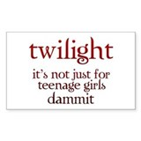 twilight Not Just for Teenag Decal