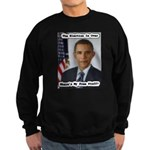 Barack Obama Free Stuff Sweatshirt (dark)