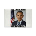 Barack Obama Free Stuff Rectangle Magnet (10 pack)