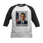 Barack Obama Free Stuff Kids Baseball Jersey