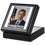 Barack Obama Free Stuff Keepsake Box