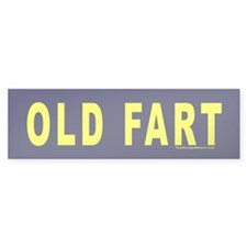 OLD FART Bumper Bumper Sticker