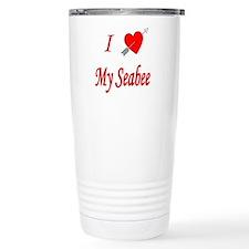 I love my Seabee Travel Mug