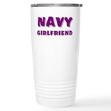 Navy Girlfriend Travel Mug