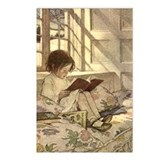 Child Reading Postcards (Package of 8)