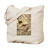 Child Reading Tote Bag