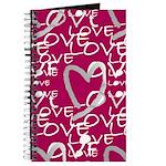 Hot Pink Love Journal