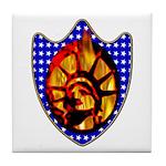 Liberty Endures Tile Coaster