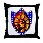 Liberty Endures Throw Pillow