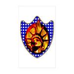 Liberty Endures Rectangle Sticker 50 pk)