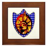 Liberty Endures Framed Tile