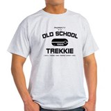 Black - Old School Trekkie T-Shirt