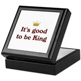 Good To Be King Keepsake Box